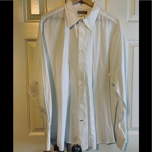 GUESS Off White Dress Shirt XXL